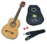 1/4 de enfants acoustique Guitare classique Guitare classique brun naturel