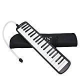 37 Touches Instrument de Musique Melodica avec Carry Bag - NOIR, XL