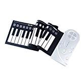 A-49szcxtop touches du piano électronique/ordinateur portable clavier de piano souple électronique de pliage/Roue pour le haut le piano