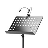 Adam Hall SMS17SET1 Pupitre musique avec Lampe LED