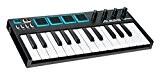 Alesis V Mini | Contrôleur USB MIDI Portable 25 Touches Sensible à la Vélocité avec 4 Pads de Percution + ...