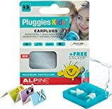 Alpine Pluggies Kids 2015 Protection Auditive pour Enfants + Gratuit Autocollants