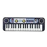 Andoer® Mini Clavier électronique 37touches Jouet musical multifonctionnel avec microphone Cadeau pour enfant bébé
