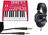 Arturia MiniBrute Producer Pack 25 touches/Casque/Câble Jack/Jack Bundle
