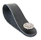 Attache à bouton avec motif étoile argenté pour sangle de guitare acoustique, électrique, basse et classique