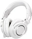 Audio-Technica ATH-M50XWH Casque audio professionnel de monitoring avec câble détachable Blanc