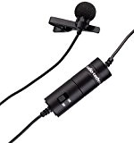 Audio-Technica ATR3350 Micro-cravate à électret omnidirectionnel Noir