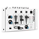 Auna TMX-2211 Table de mixage 2/3 canaux blanc