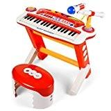 baoli 37touches clavier électronique de piano avec microphone et tabouret