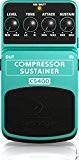 Behringer CS400 Pédale d'effet Compresseur/Sustainer