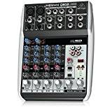 Behringer Q802USB Table de mixage Noir