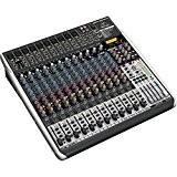 Behringer QX2442USB Premium Table de mixage 24-Entrées 4/2-Bus avec Préamplis Micro Xenyx Compresseur