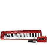 Behringer UMX610 U-Control Synthétiseur MIDI/USB 61 Touches Rouge