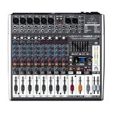 Behringer XENYX X1222USB Table de mixage 16 canaux Bus 2/2 avec Interface audio USB