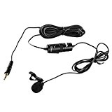 BOYA Micro-cravate Omnidirectionnel Audio Enregistrement Microphone à Condensateur avec 6m câble pour PC Sony Nikon Olympus Canon Caméscopes Caméras vidéo ...