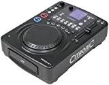 Citronic MPCD-X1 - Contrôleur DJ, platine CD et MP3, pour Scratch, Mix et Effets (Jogwheel parfait, BPM, Fader) - Noir ...