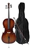 Classic Cantabile Violoncelle étudiant 4/4 SET y compris archet et poche