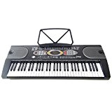 Clavier DynaSun MK2085 USB LCD 61 Touches E-Piano Keyboard Fonction d'Enseignement Intelligent