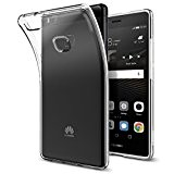 Coque Huawei P9 Lite,Spigen [Liquid Crystal] Housse Silicone Souple Transparente Ultra-Fine [Crystal Clear] une Adherence Exacte, Coque pour Huawei P9 ...