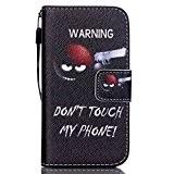 Coque Sumsung Galaxy S5 Housse,Coffeetreehouse Sumsung Galaxy S5 - Housse Lanyard Dragonne Portefeuille étui en cuir PU Cuir Portefeuille Etui ...