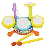 Creation® Bébé Enfants Toy Musique Mini Developmental Musical Drum Set pour les enfants -1 jeu