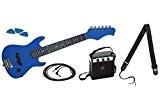 Delson StarSingerBL Pack de Guitare électrique pour enfant Bleu