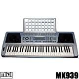 DynaSun MK 939 Clavier Arrangeur E-Piano Synthétiseur 61 Touches avec Ecran LCD MIDI Porte-partition