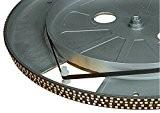 Electrovision - Courroie Pour Platine Tourne-Disques Noire - Dimensions: 205mm