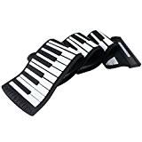 Emperor of Gadgets® Date Modèle Musique Flexible Clavier Piano avec USB | Flexible Roll-Up Style de synthétiseur MIDI Piano avec ...