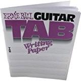 Ernie Ball EP07021 Papier musique avec Tablatures