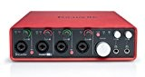 Focusrite Scarlett 18i8 Interface audionumrique USB 2.0 18 entrées/8 sorties Rouge