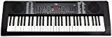 FunKey 0003812661-Son Edition Keyboard (128, 128rythmes, 10Démo de Chanson, bloc d'alimentation, pupitre) Noir