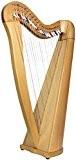 Glenluce Loch Harpe celtique 22 cordes Noir