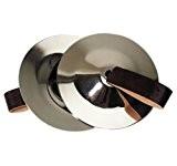 Goldon 34000 acier Paire de cymbales à doigt