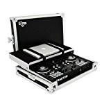 Gorilla Cases GC-S4Flight Case pour Contrôleur DJ Traktor Kontrol S4 / S4MK2avec étagère pour ordinateur portable