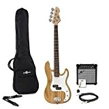 Guitare Basse LA + Pack Ampli 15W Naturel