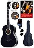 Guitare Classique, noir, avec housse