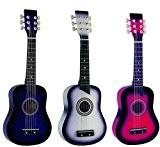 Guitare cordes métal pour Enfant 3 Coloris au choix ~ Neuve (blanche)