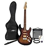 Guitare LA II HSS + Pack Ampli par Gear4Music Sunburst