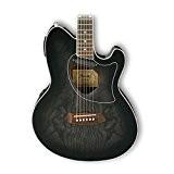 Guitares électro acoustiques IBANEZ TCM50 TKS TRANSPARENT BLACK SUNBURST HIGH GLOSS Folk électro