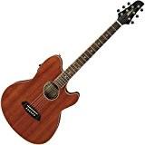 Guitares électro acoustiques IBANEZ TCY12E OPN OPEN PORE NATURAL Folk électro