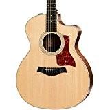 Guitares électro acoustiques TAYLOR 214CE DLX GRAND AUDITORIUM + ETUI Folk électro