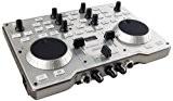 Hercules DJ console mk4 - Contrôleur DJ USB ultra nomade pour PC et Mac. Table de mixage 2 platines avec ...