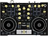 Hercules DJConsole RMX 2 Contrôleur DJ Métal Robuste avec Audio Professionnel Gris