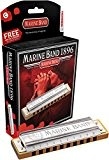 Hohner Marine Band in Bb Harmonica en Si bémol (Import Allemagne)