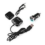 Hrph BT-760 Kit Bluetooth Récepteur voiture audio mains libres Kit pour téléphone portable voiture lecteur musique Accessoires voiture