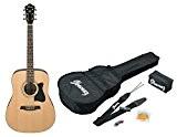 Ibanez V50NJP-NT Jam Pack Guitare acoustique avec Kit d'accessoires Naturel