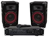 Ibis DJ150 Kit de Sonorisation Home Disco Noir