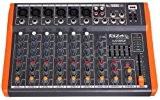 Ibis MX801 Table de Mixage Musique à 8 USB Noir