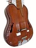 Indien Mohan Veena Raja debashish style diapositive Guitare à résonateur. Full Cèdre